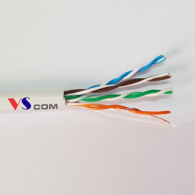 Dây cáp mạng Cat5e PVC lõi đồng nguyên chất