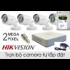 Bộ camera 4 kênh HIKVISION Full HD
