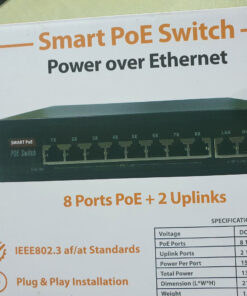 1 Switch POE 8 cổng